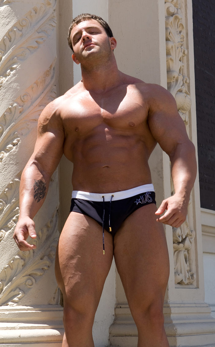Hunky body builder A-Bomb