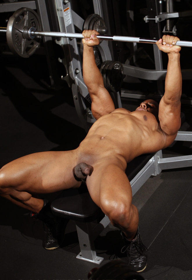 Hot guy nude workout