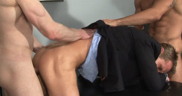 Billy Berlin fucks Neil Steven\'s hot smooth hole