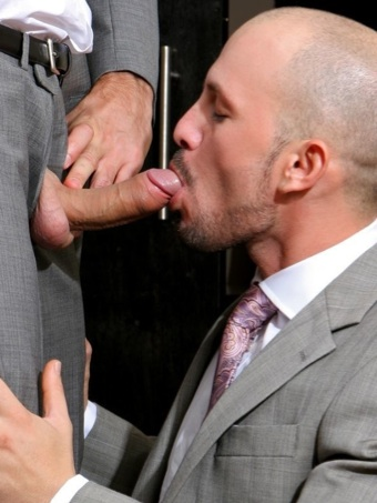 max sucks up some jay precum with his coffee