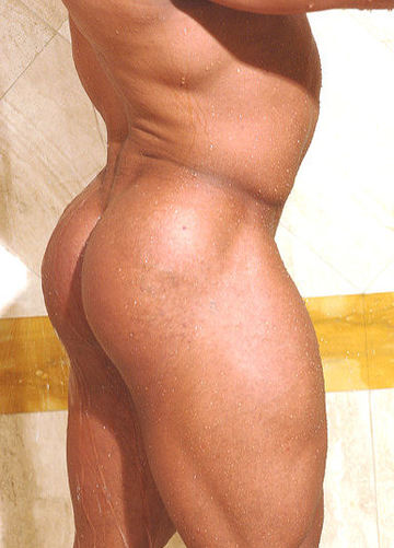 Raul\'s big smooth muscled ass