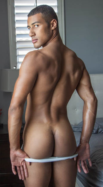 Ass pic of Dominic Santos