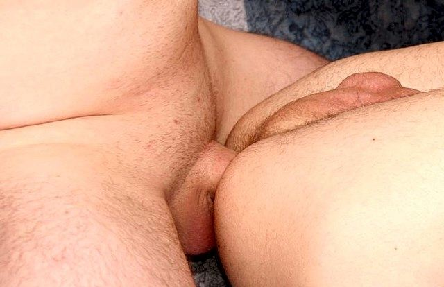 Raw cock pounding tight young hole