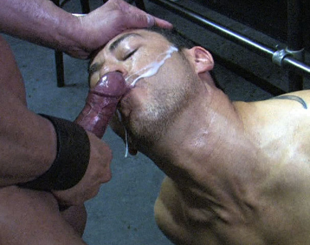 Jaques Fister geting a hot load blown on his face