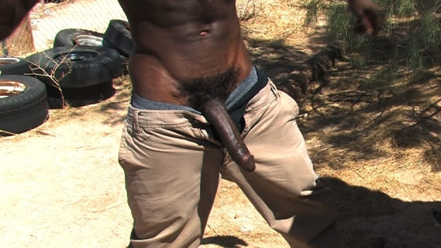 Jay Dupree's huge black cock