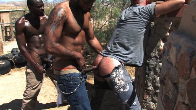 Butch Blackmore is ready to drop a load in Boy Filmore's hungry hole