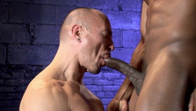 Jayson slurps on Champs huge dick