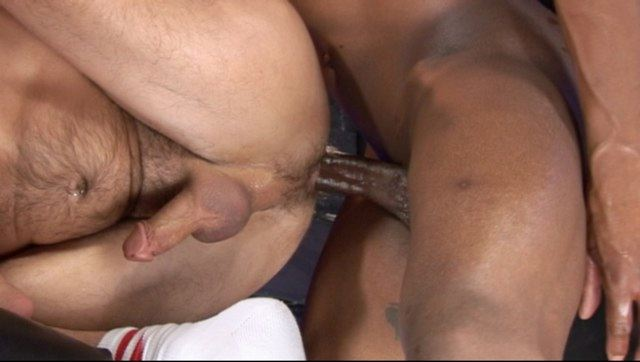 Jayson Park gets his ass pounded by huge raw Black cock