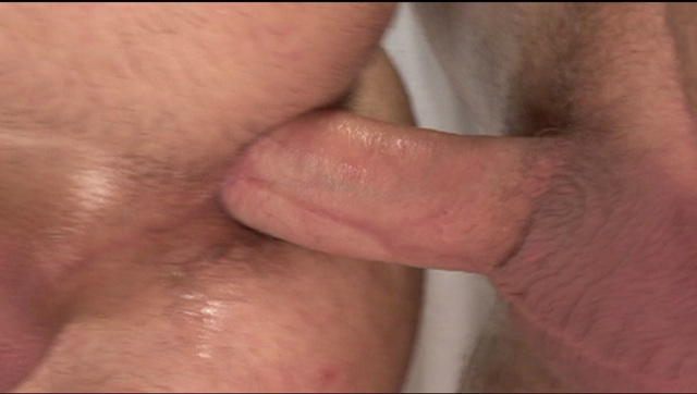 Fat raw cock pounding a smooth young ass