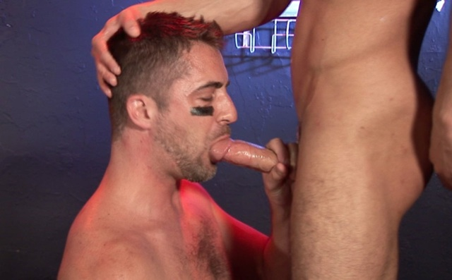 Brandon Hawk sucking cock