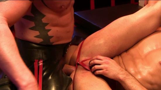 ripped stud barebacking his boy