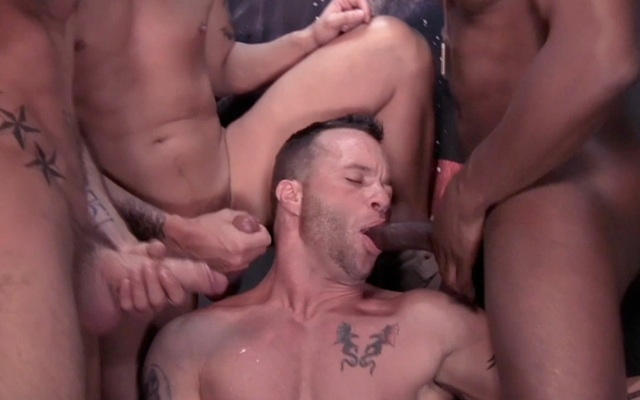 Drew Sumrock sucking a bunch of guys off