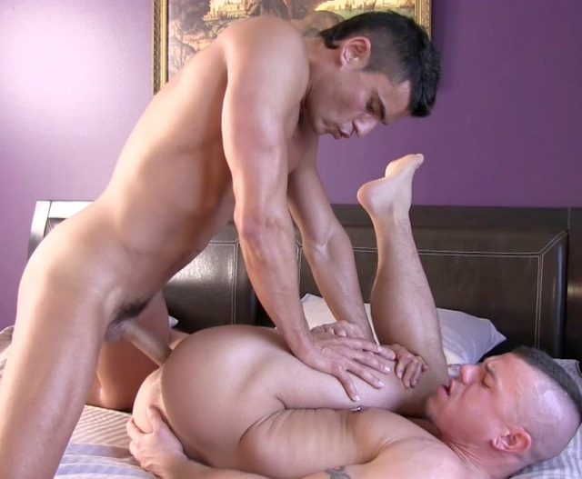 Jesse Santana as a bareback top