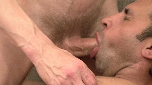 Marcos De La Fuenta cleans off Lars Svenson's fat dick