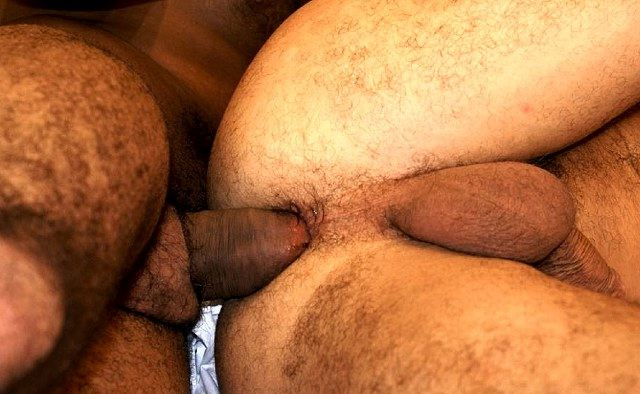 Thick raw cock fucking tight Latin hole
