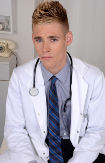 Twink doctor ready to probe his patient