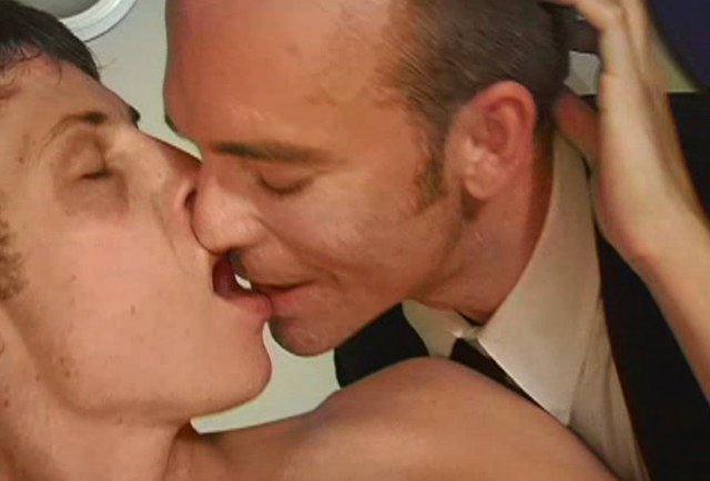 Dan Fisk kisses young twink before fucking him