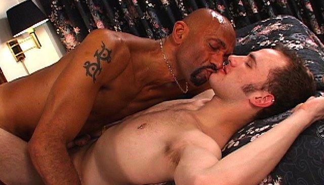 Jock boy getting fucked raw by Black top