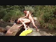 Nicolas and Alex Barebacking By A River