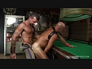 Muscle Bears Taking Turns On Scott's Raw Ass