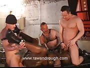 Black Slut Gangbanged And Fisted