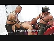 Huge Leather Pig Orgy