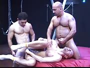 Jayson And Two Hot Studs Bare Fucking