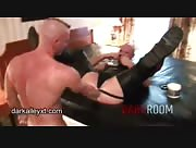 Matthias Punch Fucking Leather Skinhead