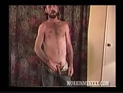 John Reed Jerks His Tattooed Dick